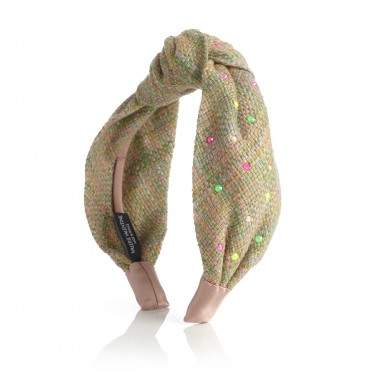 Knot tweed and Swarovski®...
